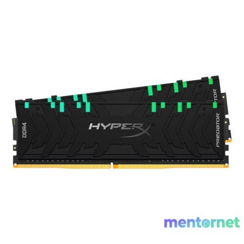 Kingston 64GB/3200MHz DDR-4 HyperX Predator RGB XMP (Kit! 2db 32GB) (HX432C16PB3AK2/64) memória