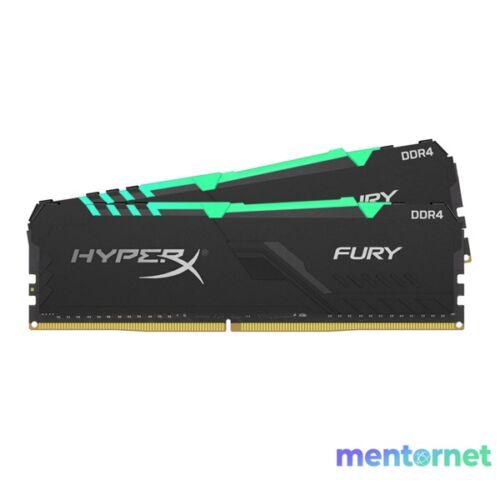 Kingston 64GB/3466MHz DDR-4 HyperX FURY RGB (Kit! 2db 32GB) (HX434C17FB3AK2/64) memória