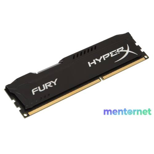 Kingston 4GB/1600MHz DDR-3 HyperX FURY fekete (HX316C10FB/4) memória