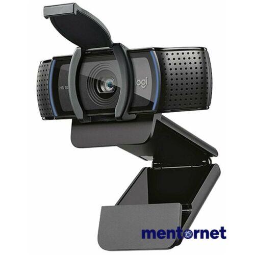 Logitech C920S Pro 1080p mikrofonos fekete webkamera