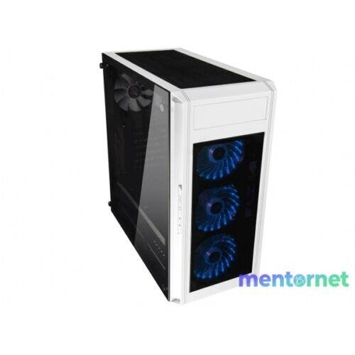 RAIDMAX Alpha Prime Fehér (Táp nélküli) ablakos ATX ház