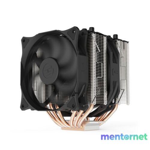 SilentiumPC Grandis 3 120mm és 140mm Fekete processzor hűtő