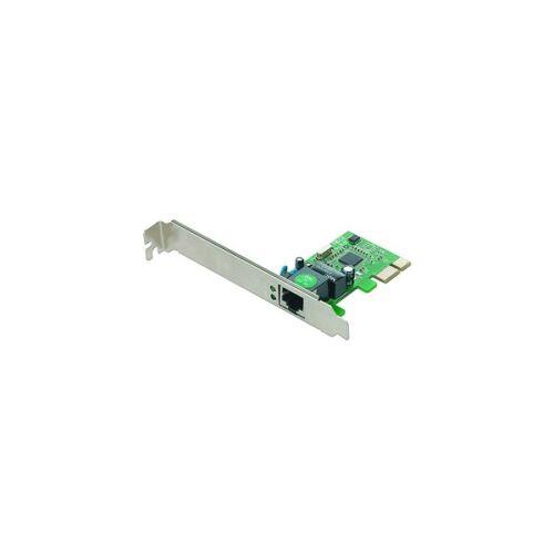 PCI-E csatlakozású hálózati kártya, 10/100/1000 -gigabit -NIC-GX1