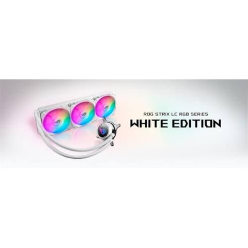 ASUS ROG STRIX LC 360 RGB White Edition vízhűtéses processzorhűtő