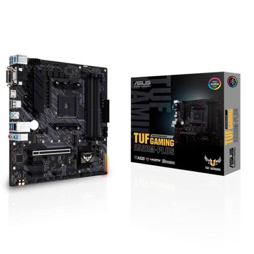 ASUS TUF GAMING A520M-PLUS AMD A520 SocketAM4 mATX alaplap