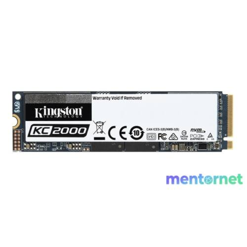 Kingston 2TB M.2 NVMe 2280 KC2000 (SKC2000M8/2000G) SSD