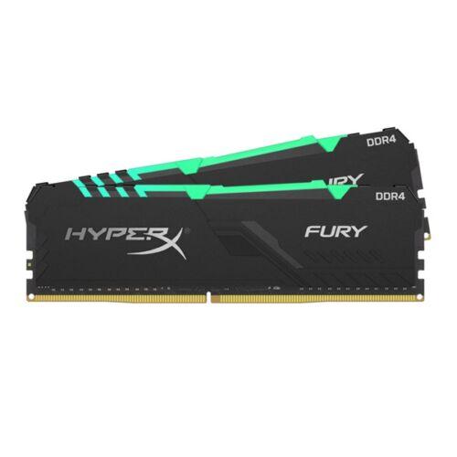 Kingston 16GB/3000MHz DDR-4 1Rx8 HyperX FURY RGB (Kit 2db 8GB) (HX430C15FB3AK2/16) memória