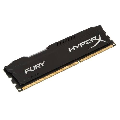 Kingston 4GB/1600MHz DDR-3 HyperX FURY fekete (HX316C10FB/4) memória