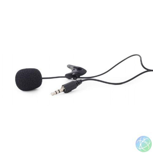 MIC-211B fekete felcsíptethetős mikrofon