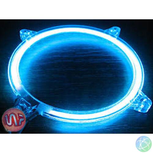 80mm-es ventilátorra építhető kék színű fénycső, tartozék inverterrel