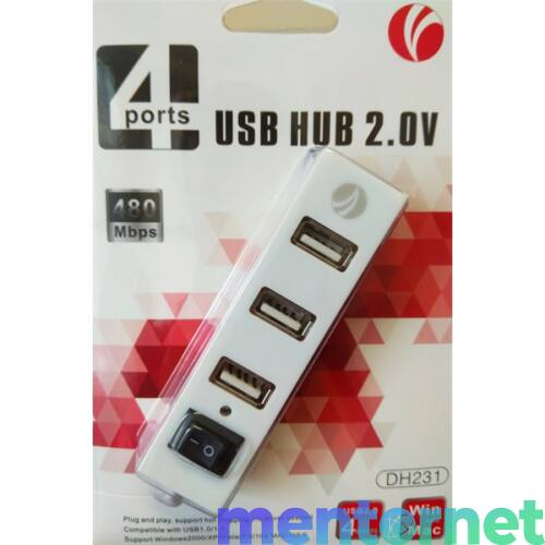 DH-231 DH231 USB2.0 4 port USB HUB