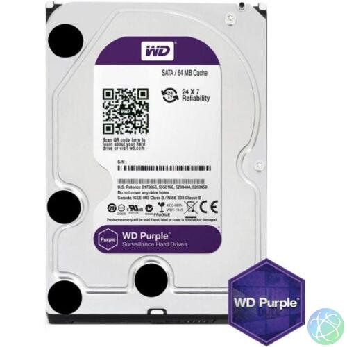 """Purple 3.5"""" HDD, 2000GB, SATA III, 5400RPM, 64MB (WD20PURZ)"""