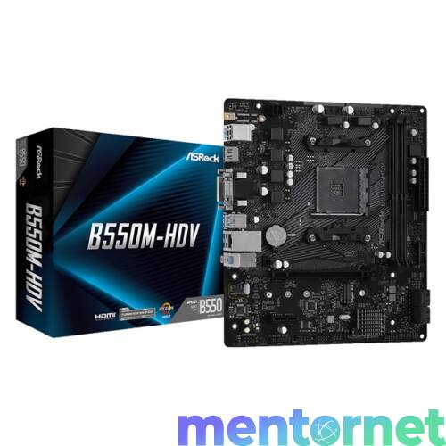 ASRock B550M-HDV AMD B550 SocketAM4 mATX alaplap