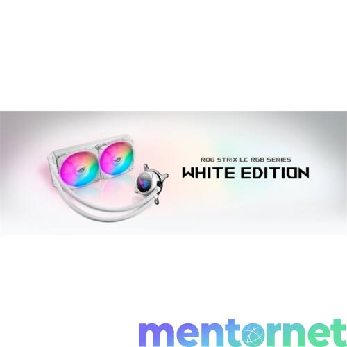 ASUS ROG STRIX LC 240 RGB White Edition vízhűtéses processzorhűtő