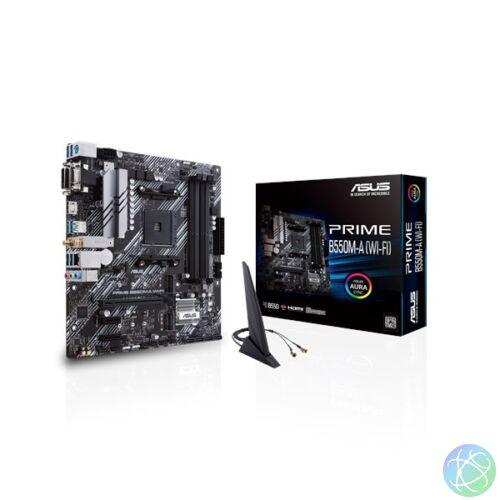 ASUS PRIME B550M-A (WI-FI) AMD B550 SocketAM4 mATX alaplap
