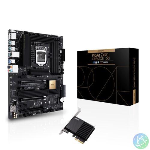 ASUS PROART Z490-CREATOR 10G Intel Z490 LGA1200 ATX alaplap