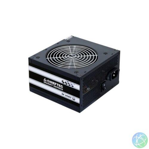 Chieftec GPS-600A8 600W PFC 12 cm ventilátorral dobozos tápegység