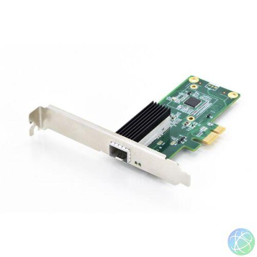 DIGITUS Gigabit SFP vezetékes PCI-E ethernet adapter