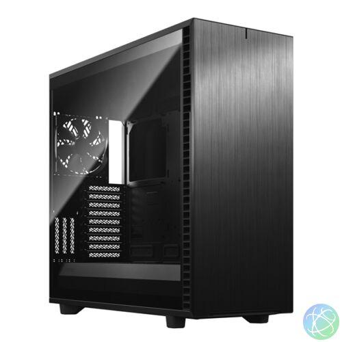 Fractal Design Define 7 XL Fekete ablakos (Táp nélküli) E-ATX ház