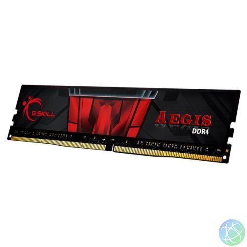 G.Skill 8GB/3200MHz DDR-4 Aegis fekete (F4-3200C16S-8GIS) memória