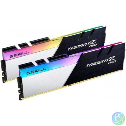 G.Skill 16GB/3800MHz DDR-4 Trident Z Neo (Kit! 2db 8GB) (F4-3800C14D-16GTZN) memória