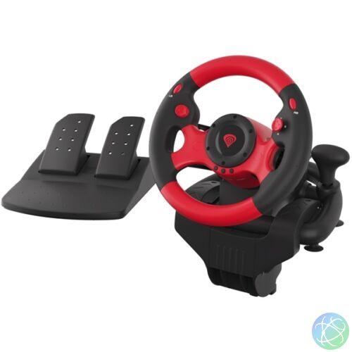 Genesis Seaborg 300 PC-s fekete-piros versenykormány