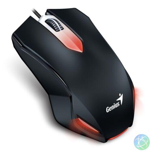Genius X-G200 USB fekete gamer egér