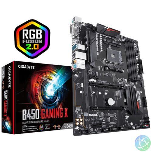Gigabyte B450 GAMING X AMD B450 SocketAM4 ATX alaplap