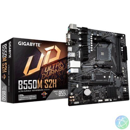 Gigabyte B550M-S2H AMD B550 SocketAM4 mATX alaplap