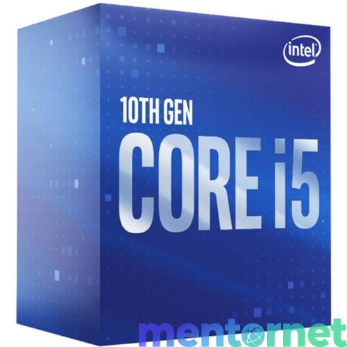 Intel Core i5 2,90GHz LGA1200 12MB (i5-10400F) box processzor