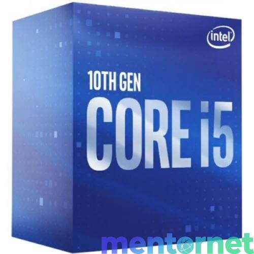Intel Core i5 4,10GHz LGA1200 12MB (i5-10600K) box processzor