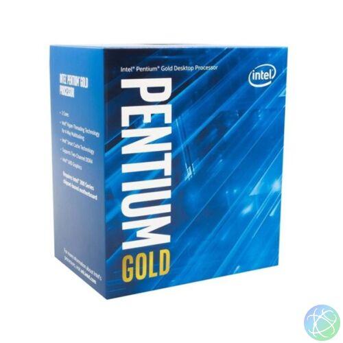 Intel Pentium 4,10GHz LGA1200 4MB (G6405) box processzor