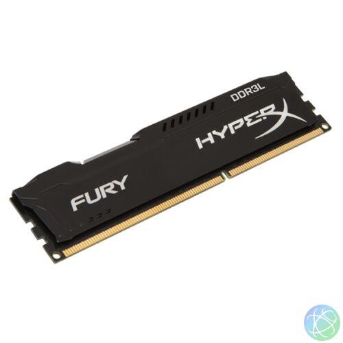 Kingston 8GB/1866MHz DDR-3 HyperX FURY fekete LoVo (HX318LC11FB/8) memória