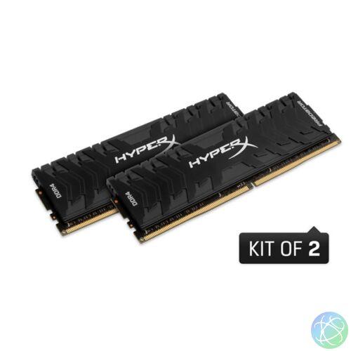 Kingston 32GB/3600MHz DDR-4 HyperX Predator XMP (Kit! 2db 16GB) (HX436C17PB3K2/32) memória