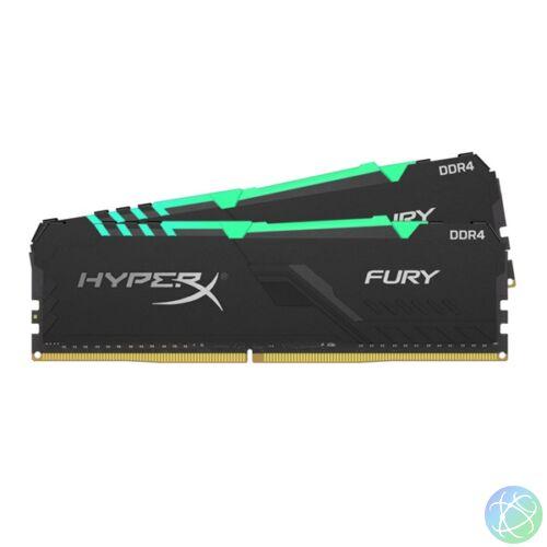 Kingston 32GB/2400MHz DDR-4 HyperX FURY RGB (Kit 2db 16GB) (HX424C15FB3AK2/32) memória