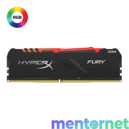 Kingston 8GB/2666MHz DDR-4 1Rx8 HyperX FURY RGB (HX426C16FB3A/8) memória