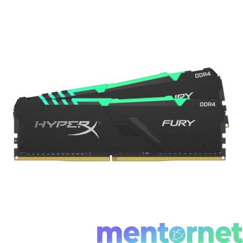 Kingston 32GB/3733MHz DDR-4 HyperX FURY RGB (Kit 2db 16GB) (HX437C19FB3AK2/32) memória