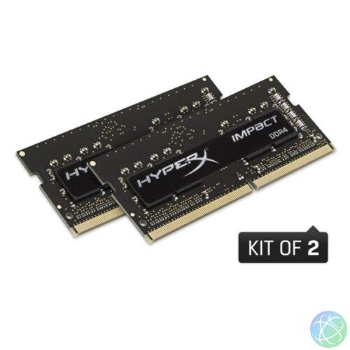 Kingston 64GB/2666MHz DDR-4 HyperX Impact (Kit 2db 32GB) (HX426S16IBK2/64) notebook memória