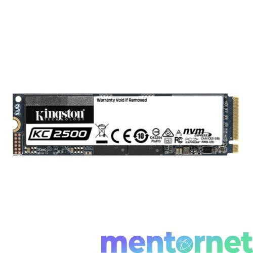 Kingston 500GB M.2 NVMe 2280 KC2500 (SKC2500M8/500G) SSD