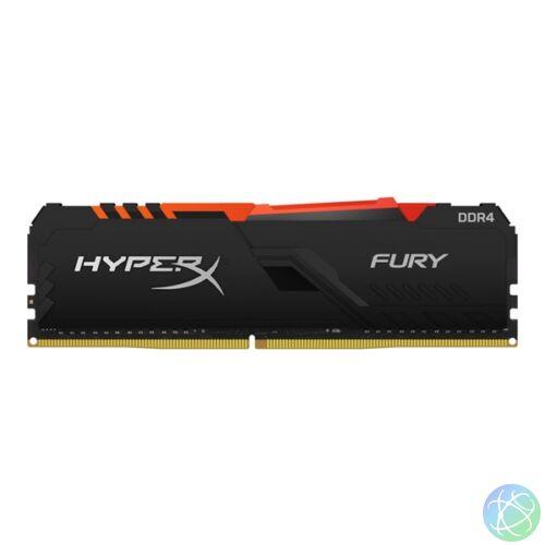 Kingston 32GB/2666MHz DDR-4 HyperX FURY RGB (HX426C16FB3A/32) memória