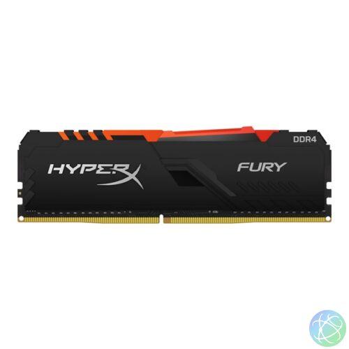Kingston 16GB/2666MHz DDR-4 HyperX FURY RGB (HX426C16FB4A/16) memória