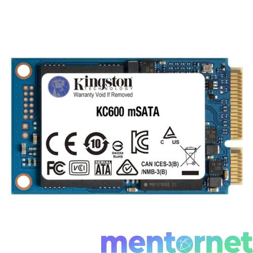 Kingston 256GB mSATA KC600 (SKC600MS/256G) SSD