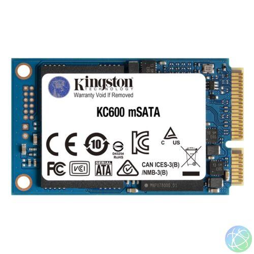 Kingston 512GB mSATA KC600 (SKC600MS/512G) SSD