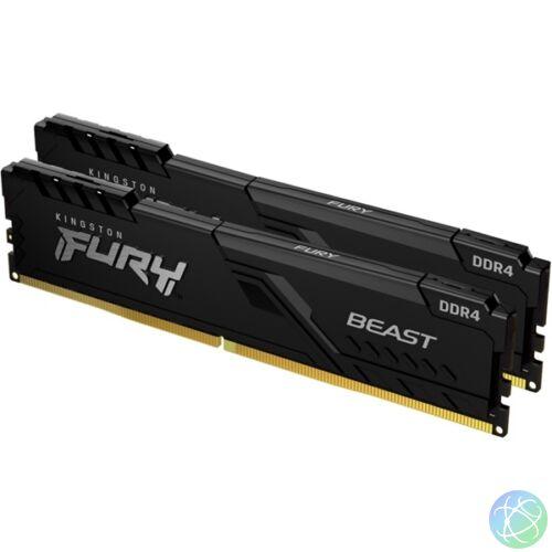 Kingston 32GB/3000MHz DDR-4 (Kit of 2) FURY Beast Black (KF430C16BBK2/32) memória