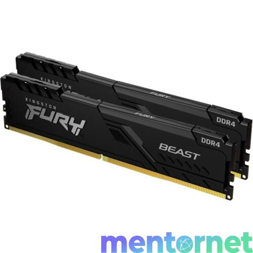 Kingston 32GB/3733MHz DDR-4 (Kit of 2) 1Gx8 FURY Beast Black (KF437C19BB1K2/32) memória
