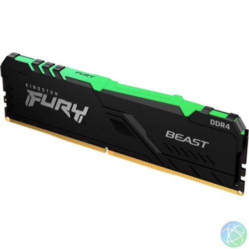 Kingston 32GB/3200MHz DDR-4 FURY Beast RGB (KF432C16BBA/32) memória