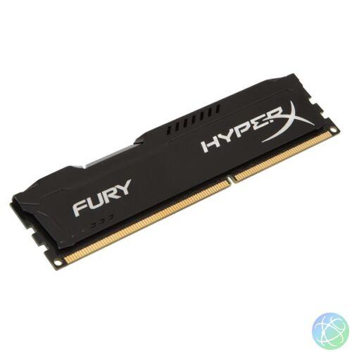 Kingston 8GB/1600MHz DDR-3 HyperX FURY fekete (HX316C10FB/8) memória