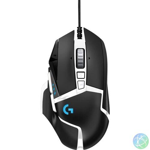 Logitech G502 SE HERO fekete-fehér gamer egér
