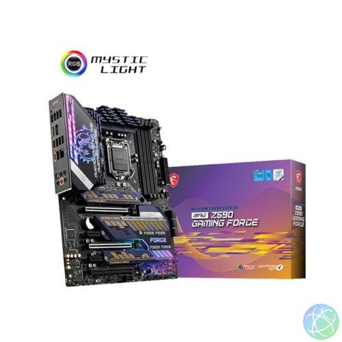 MSI MPG Z590 GAMING FORCE Intel Z590 LGA1200 ATX alaplap