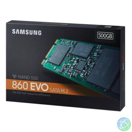 Samsung 500GB SATA3 860 EVO M.2 SATA (MZ-N6E500BW) SSD